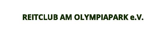 Logo Reitclub am Olympiapark e.V.